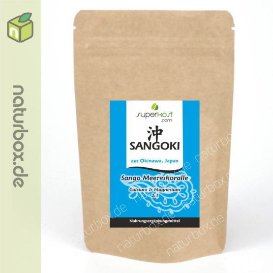 Calcium Magnesium Powder Sango aus Japan Okinawa